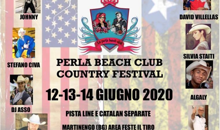 Perla Beach Club Country Festival Bergamo